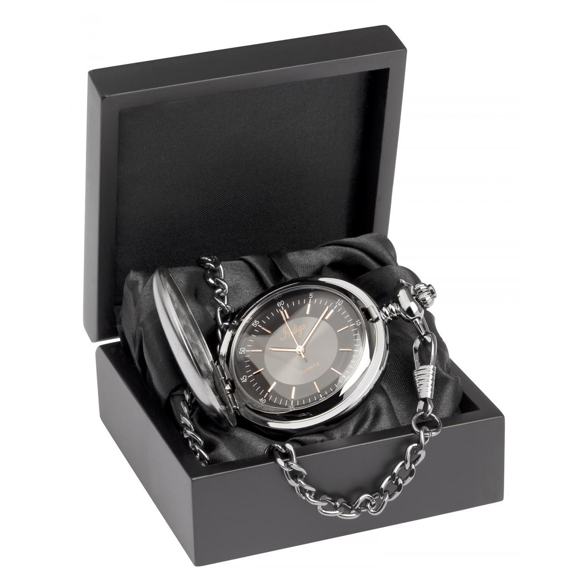 Pocket Watch Gunmetal-0